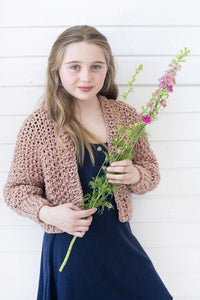 DIY Kit - Mini Cropped Cardigan - Big Cotton