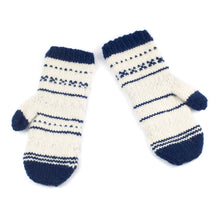 Load image into Gallery viewer, Nordic Night Mittens PATTERN- Dream (Merino Worsted)