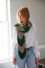 Load image into Gallery viewer, Chevron Scarf - Merino