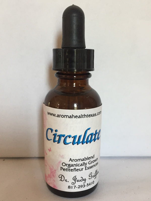 Circulate Aroma Blend (Rose oil aroma)