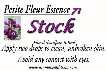 Stock, Matthiola incana Rosea, Flower Essence