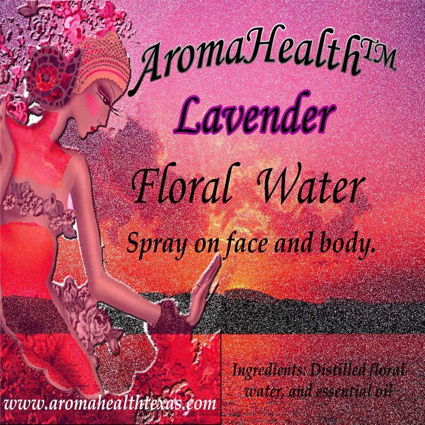 Lavendar, Essential Oil Floral Water