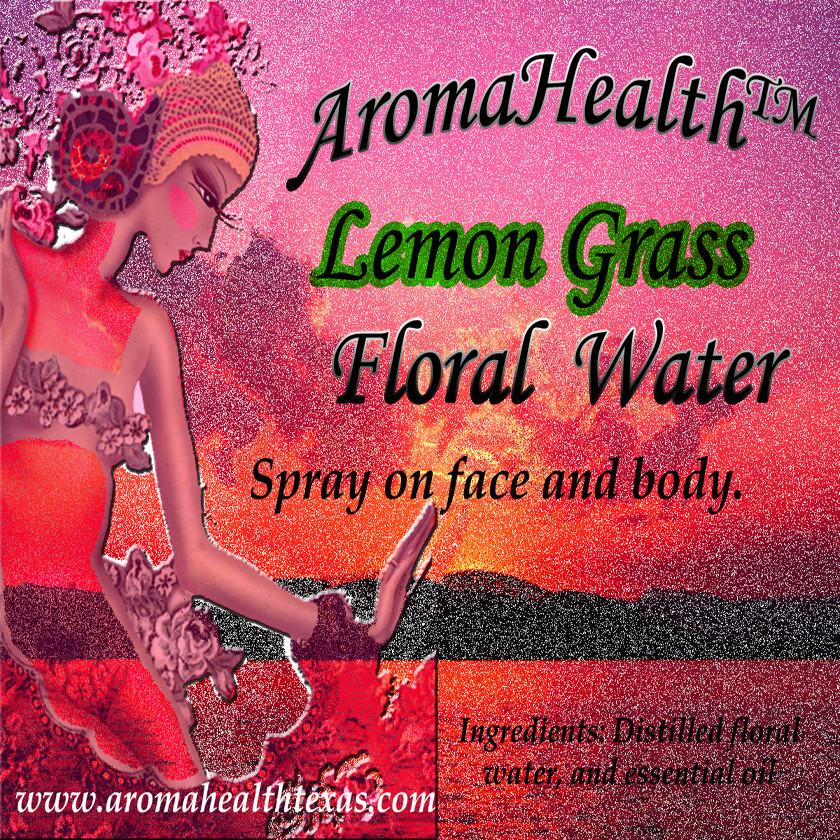 Lemon Grass,Cymbopogon, Essential Oil Floral Water