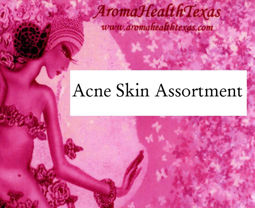 Acne Natural Skin Assortment - Aroma Health Texas