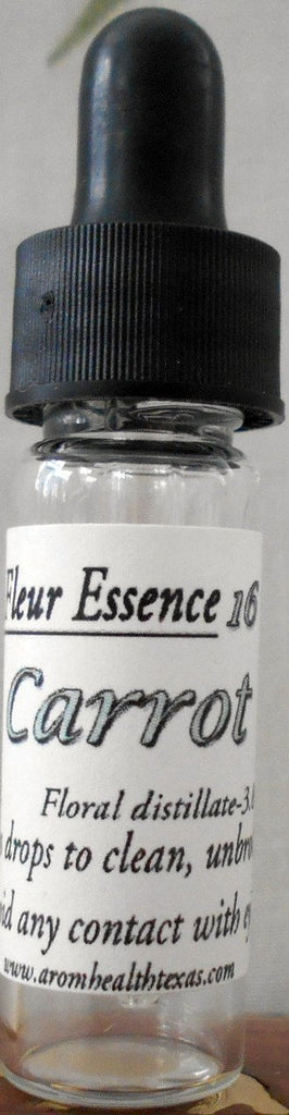 Carrot Flower Essence Aroma Health Texas