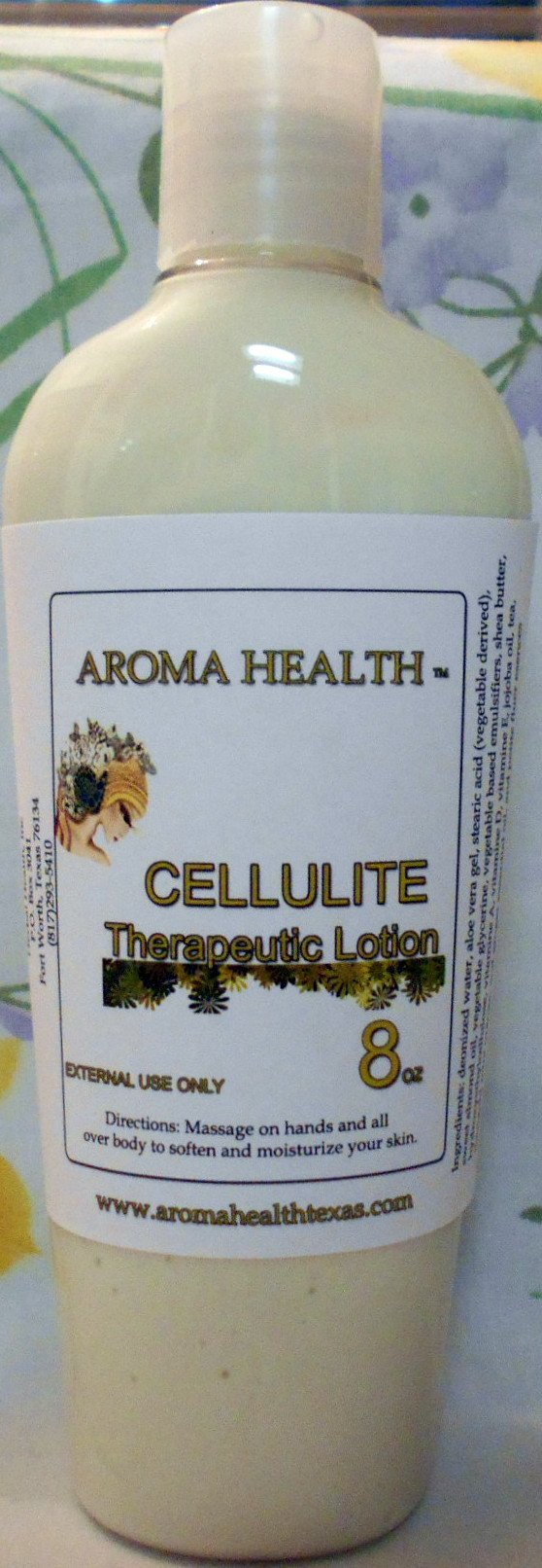 Cellulite Lotion Natural Skincare - Aroma Health Texas