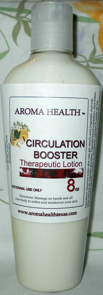 Circulation Booster Body Lotion - Aroma Health Texas