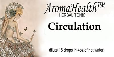 Circulation Herbal longevity Tonic - Aroma Health Texas