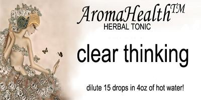 Clear ThinkingHerbal Longevity  Tonic