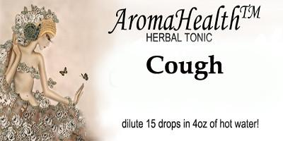 Cough Herbal Longevity Tonic - Aroma Health Texas