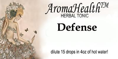 Defense Herbal Longevity Tonic - Aroma Health Texas