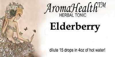 Elderberry Herbal Longevity Tonic