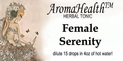 Female Serenity Herbal Longevity Tonic