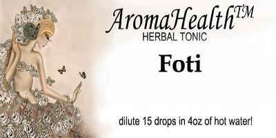 Foti Herbal Longevity Tonic - Aroma Health Texas
