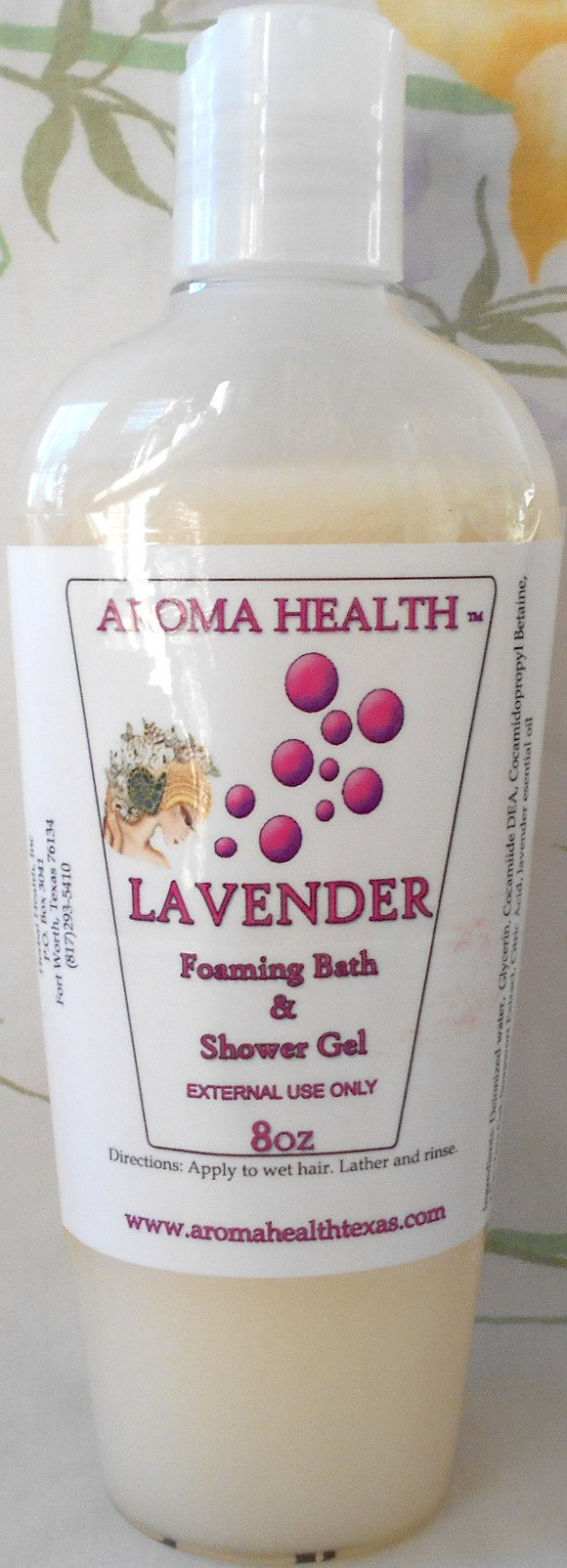 Lavendar Pearlescent Body Wash - Aroma Health Texas