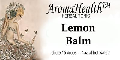 Lemon Balm, Herbal Longevity Tonic