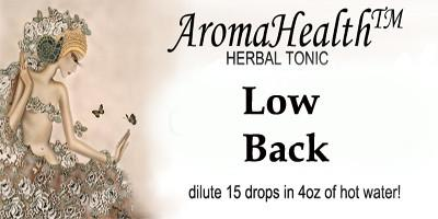 Low back Herbal Longevity Tonic