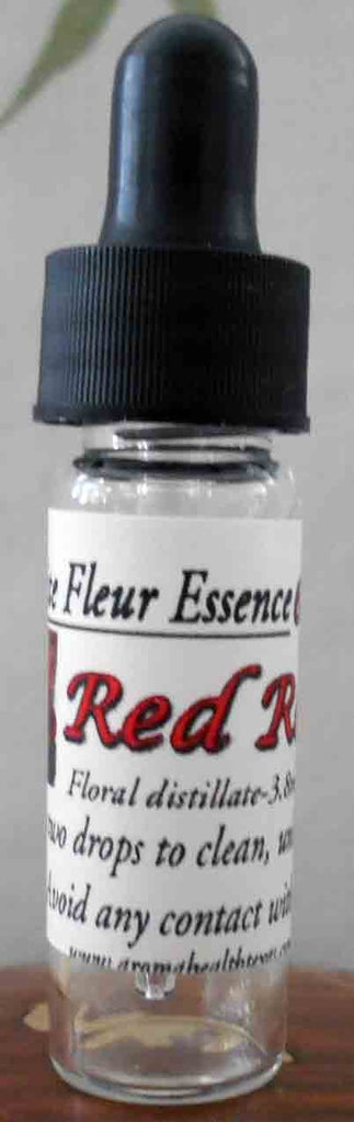 Red Rose Flower Essence