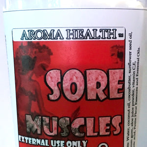 Sore Muscles Lotion