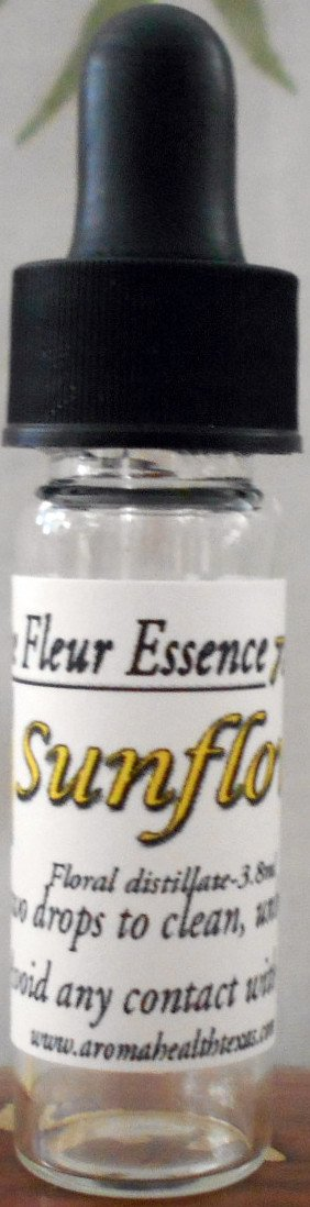 Sunflower,Helianthus annus, Flower Essence