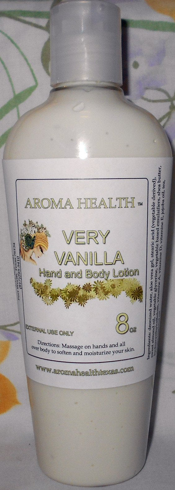 Very Vanilla Lotion