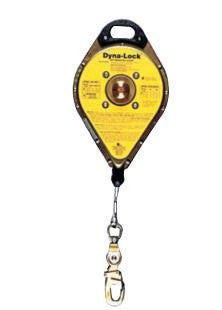 MSA 20' Dyna-Lock® Nylon Web Self-Retracting Lanyard