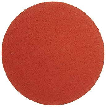 "3M™ 3"" 80 Grit Medium Grade Ceramic Alumina Roloc™ 777F Yellow TR (Type III) Quick Change Coated Abrasive Disc 200 Per Case"