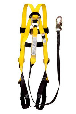3M™ SafeLight Fall Protection Harness/Lanyard Combo Universal Size