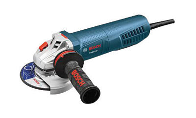 "Bosch 8.5 Amp 11500 RPM 4 1/2"" Angle Grinder With 8' Cord And No-Lock-On Paddle Switch"