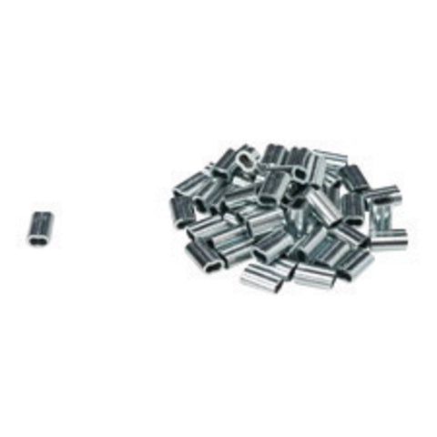 "Brady® 1/4"" X 0.375"" Silver Zinc Plated Fastener-Price is per 1 Pack"