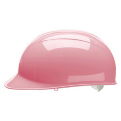 Bullard® Light Pink HDPE Cap Style Bump Cap With Pinlock Suspension-Price is per 25 Each