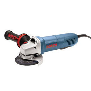 "Bosch 9 Amp, 11,000 RPM 5"" Small Angle Grinder With Lock-On Paddle Switch"