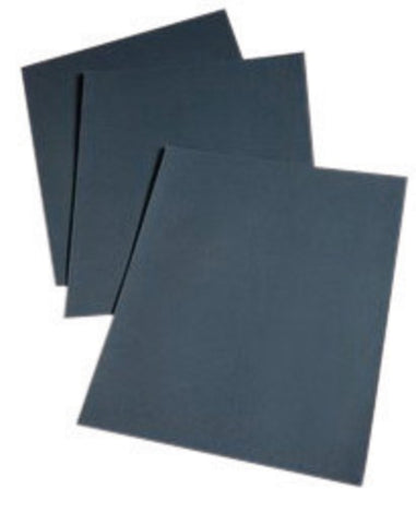 "3M 11"" X 9"" 120C Grit Wetordry Silicon Carbide Fine Grade Coated Sanding Sheet (50 Per Pack"