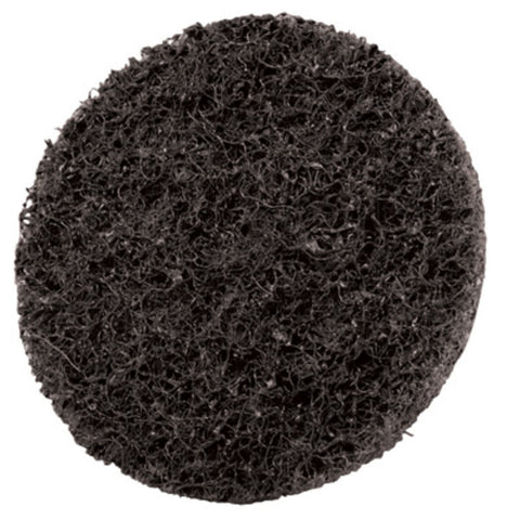 "3M 5"" X No Hole Super Fine Grade Silicon Carbide Scotch-Brite Gray Hook And Loop Non-Woven Surface Conditioning Disc"