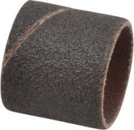 "3M 1"" X 1"" P80 Grit Medium Grade Aluminum Oxide Evenrun 241D Coated Resin Bond Spiral Band (50 Per Box"