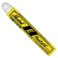 "Markal® E® Paintstik® White Solid Paint Marker With 11/16"" Wide Point"