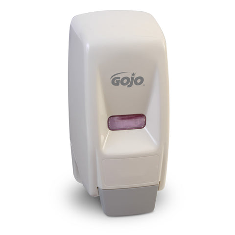 GOJO® 800 mL Ceramic White 800 Series Bag-in-Box Dispenser