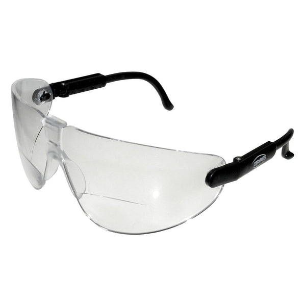 3M Lexa 2.5 Diopter Black Frame Safety Glasses With Clear Anti-Fog