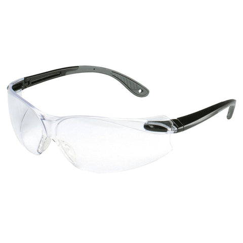 3M Virtua Black And Gray Frame Safety Glasses With Mirror Anti-Scratch