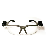 3M Light Vision 2 Gray Frame Safety Glasses With Clear Lens