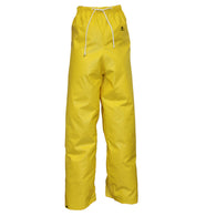"Tingley 2X Yellow 32"" DuraScrim 10.5 mil PVC And Polyester Waterproof  Rain Pants With   -Price is per 1 Each"