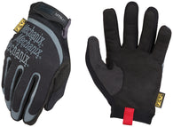 Mechanix Wear® Size 9 Black And Gray Utility Synthetic Leather And TrekDry® Full Finger Mechanics Gloves With Hook And Loop Cuff