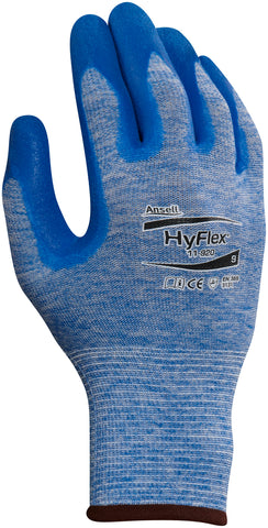 Ansell 10 HyFlex Nitrile Nylon Work Gloves