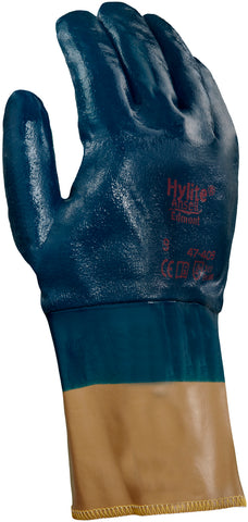 Ansell 10 Hylite Nitrile Cotton Work Gloves