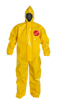 DuPont Size 2X Yellow Tychem® 9000 18 mil Tychem® 9000 Bib Pants/Overalls -Price is per 1 Each