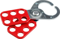 Brady® Red Steel Hasp