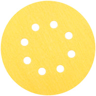 "Norton® 5 "" X No Hole P80 Grit Aluminum Oxide Paper Disc   -Price is per 200 Each"