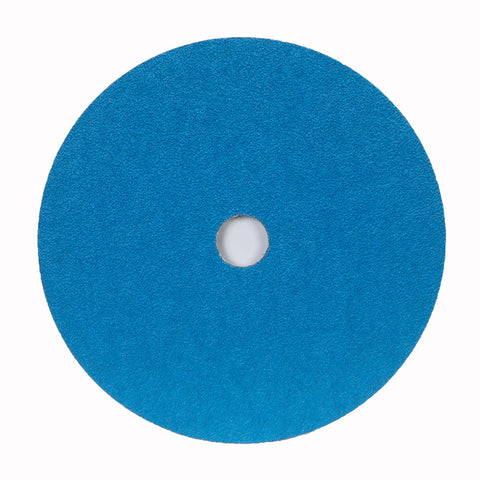 "Norton® 4 1/2 "" X 7/8 "" 60 Grit BlueFire Zirconia Alumina Fiber Disc   -Price is per 25 Each"