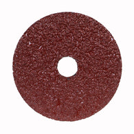 "Norton® 5 "" X 7/8 "" 24 Grit Metal Aluminum Oxide Fiber Disc   -Price is per 25 Each"