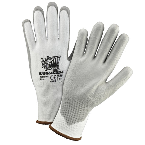 PIP® 2X Barracuda® 13 Gauge High Performance Polyethylene And Nylon Cut Resistant Gloves With Polyurethane Coating